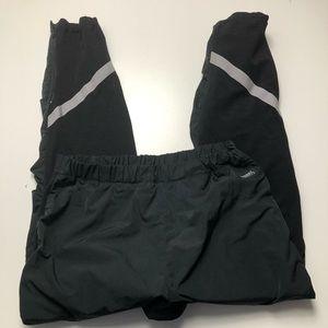 Running Room Men's Wind Run Pants Black XXL